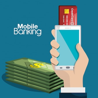 Les services bancaires mobiles