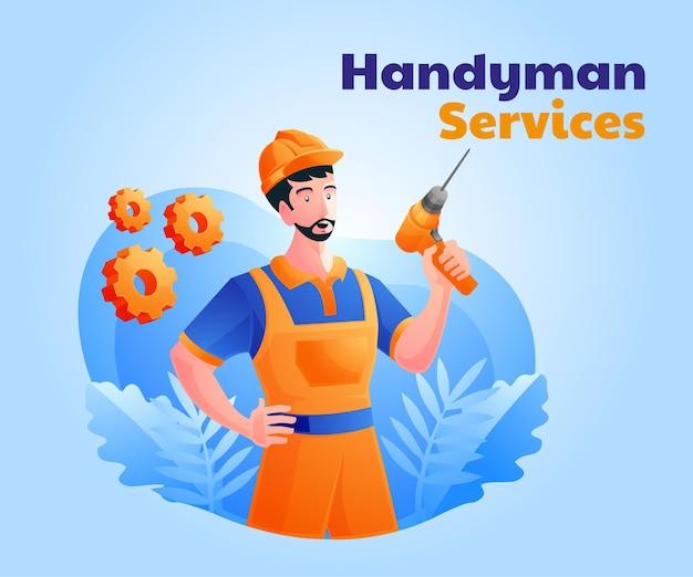Services de bricoleur et réparation à domicile