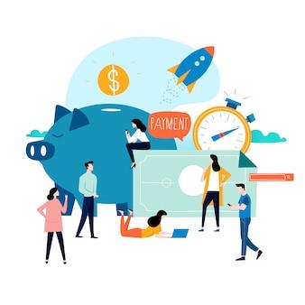 Services commerciaux et financiers