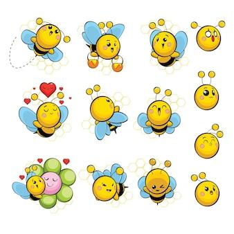 Set abeille