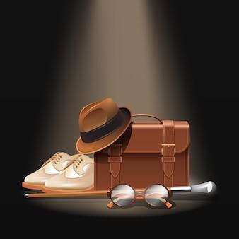 Set d'accessoires pour gentleman