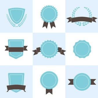 Set de badges