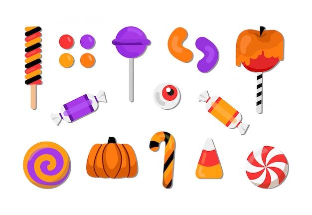 Set de bonbons d'halloween