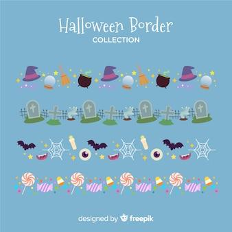 Set de bordure d'halloween