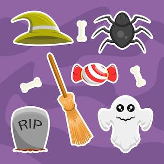 Set bundle design mignon halloween