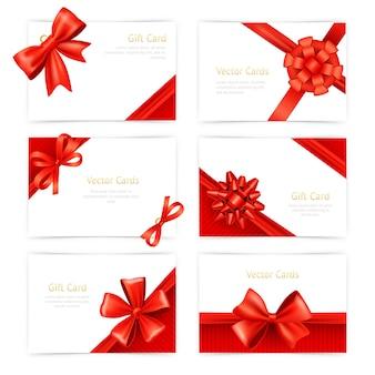 Set de cartes-cadeaux