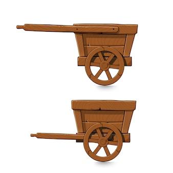 Set de chariots miniers