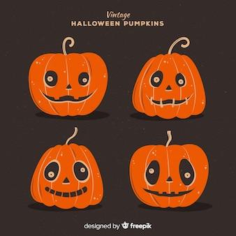 Set de citrouille d'halloween