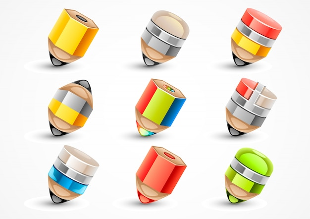 Set de crayons