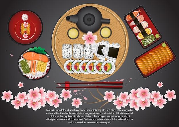 Set de cuisine japonaise