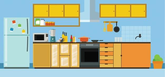 Set de cuisine moderne