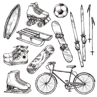 Set d'équipement de sport