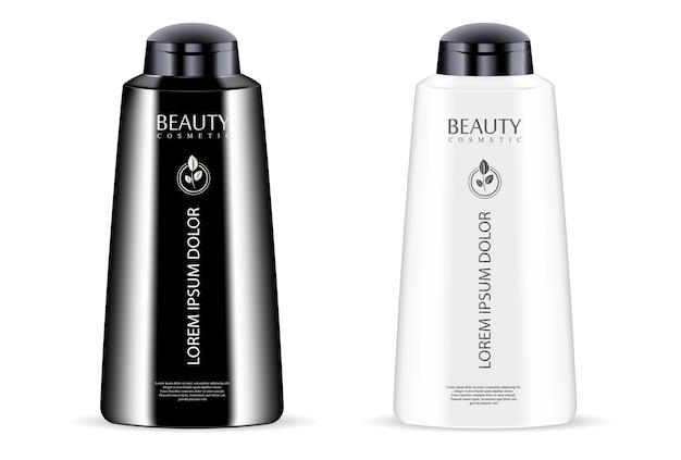 Set de flacons cosmétiques pour gel, lotion, conditionneur