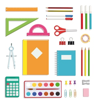 Set de fournitures scolaires
