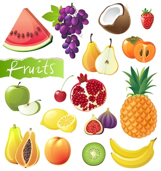 Set de fruits