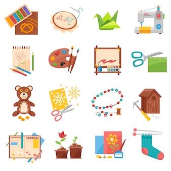 Set d'icônes de loisirs