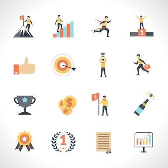 Set d'icônes de succès