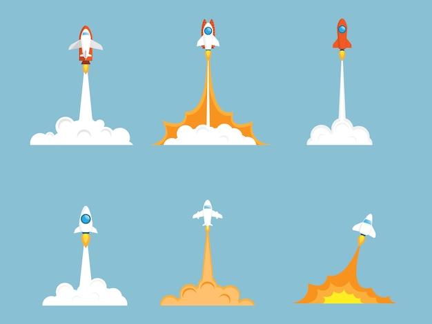 Set de lancement de fusée