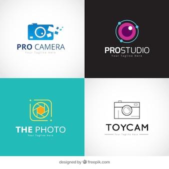 Set de logos de tiendas