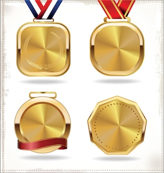Set de médaille d'or