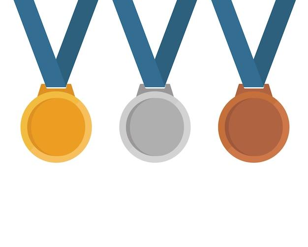 Set de médailles.