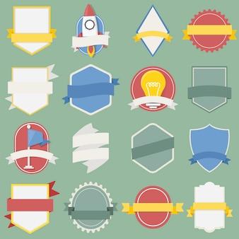 Set mixte de badges