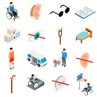 Set de soins pour personnes handicapées