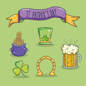 Set st patrick celebrations et decoration d'evenement