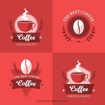 Set de stickers de café