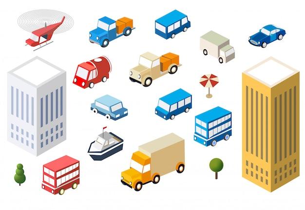 Set voitures automatiques