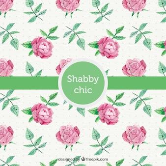 Shabby chic fond de style