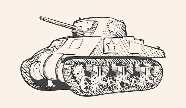 Sherman, le principal char moyen américain de la seconde guerre mondiale