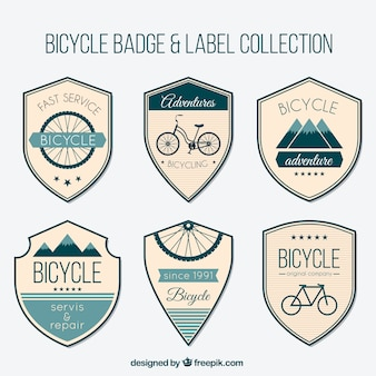 Shieds vélo vintage set