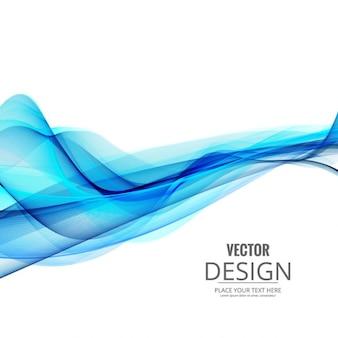 Shiny fond vague bleue