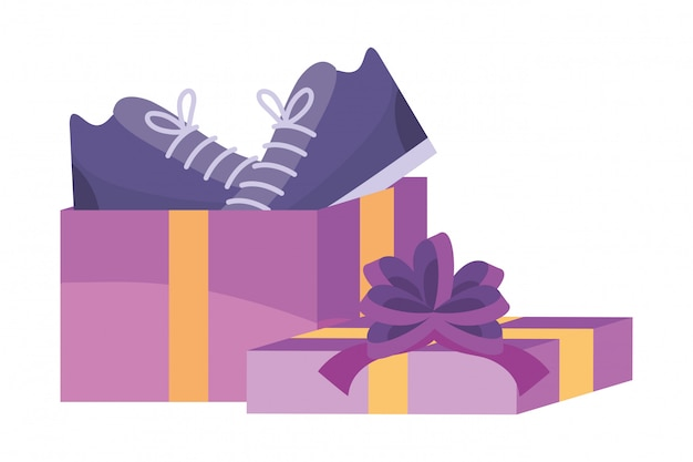 Shopping icône illustration
