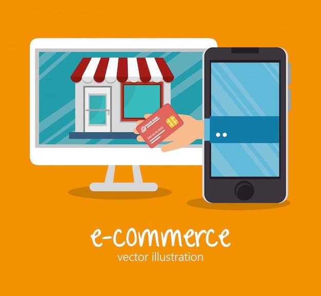 Shopping en ligne design