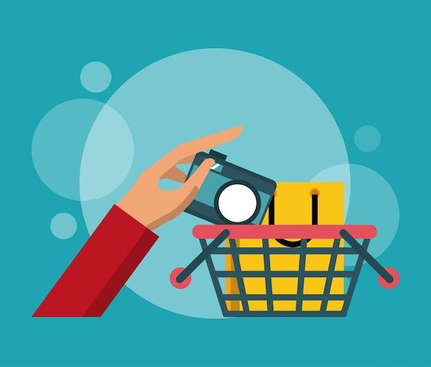 Shopping et marketing