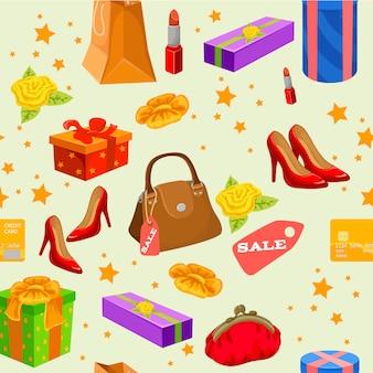 Shopping modèle sans couture