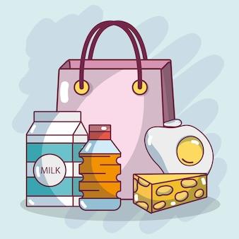 Shopping petit-déjeuner