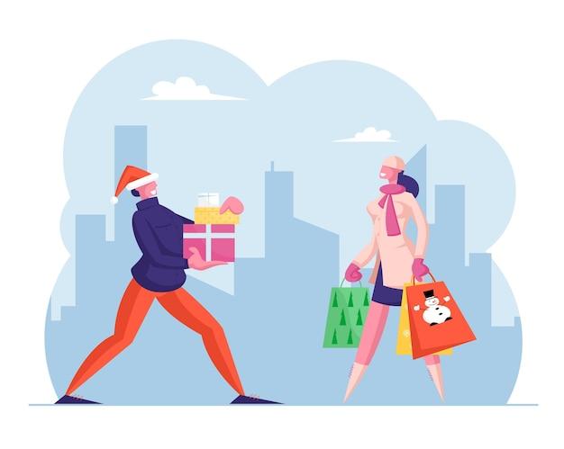 Shopping vacances d'hiver