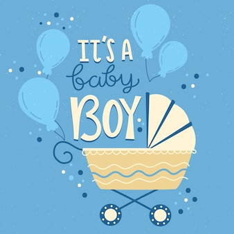 Shower de bébé pour garçon