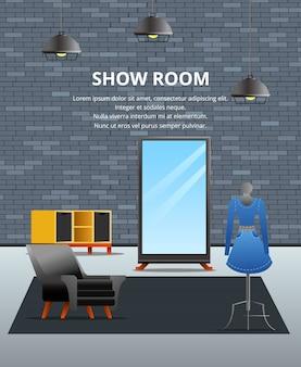 Showroom loft flat