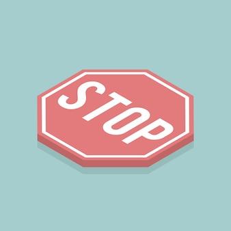 Signal d'arrêt