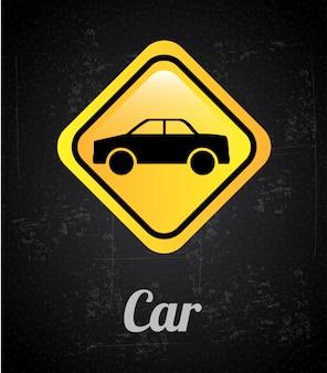 Signal de voiture