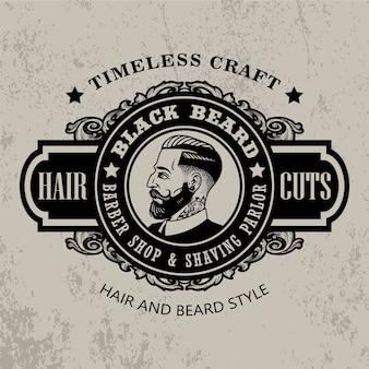 Signe de barbier vintage