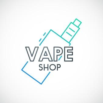 Signe de cigarette électronique