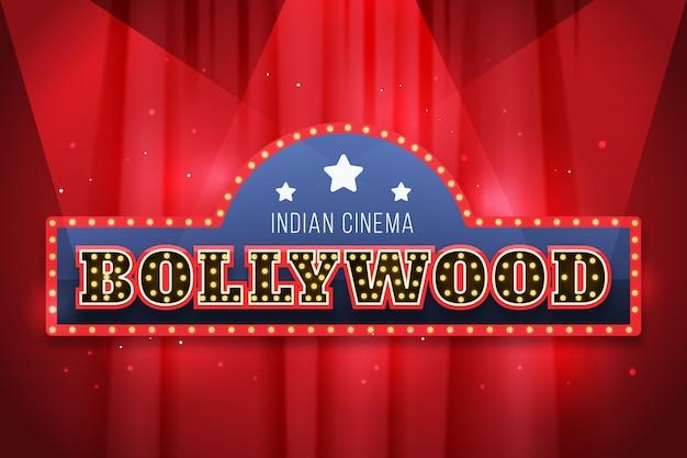 Signe de cinéma bollywood réaliste