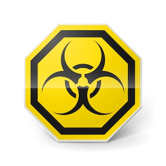 Signe de danger biologique