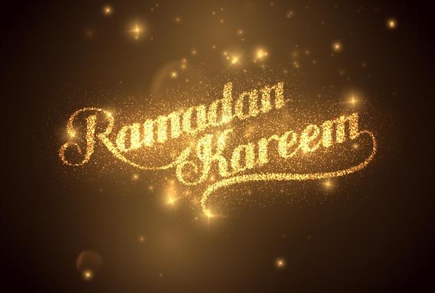 Signe du ramadan kareem