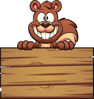 Signe écureuil